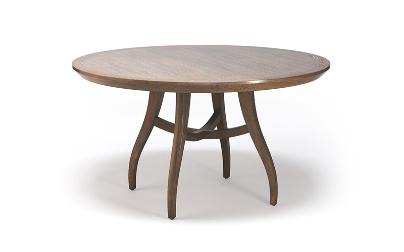 Beau Clarion 54u201d Round Dining Table