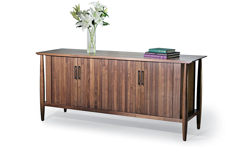 halcyon credenza with four doors