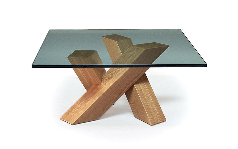 "k-3 40"" square coffee table"