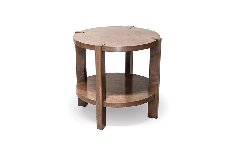 "mezzanine 27"" round side table"