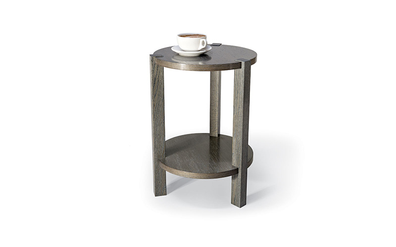 mezzanine petite end table