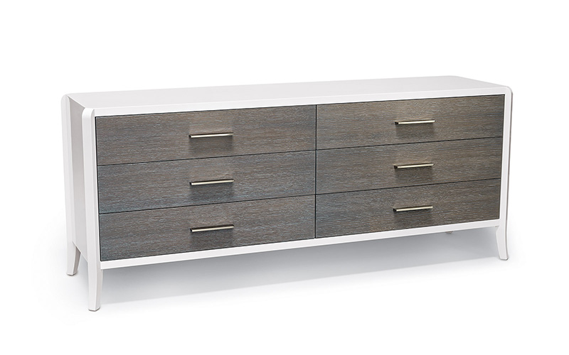 relevé six drawer dresser
